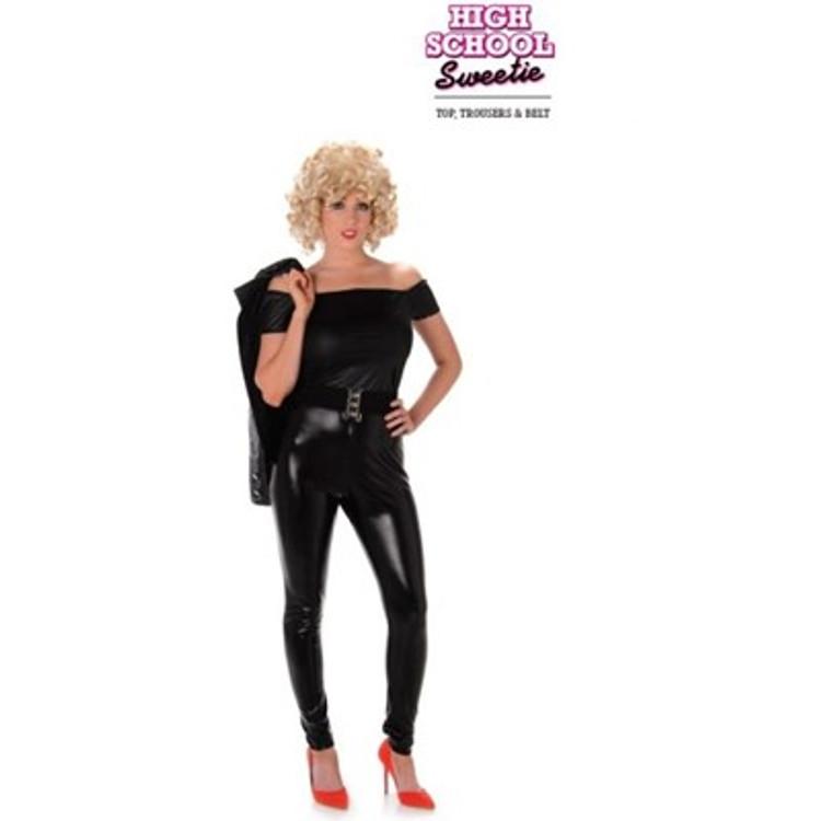 Grease High School Sweetie Womens Costume