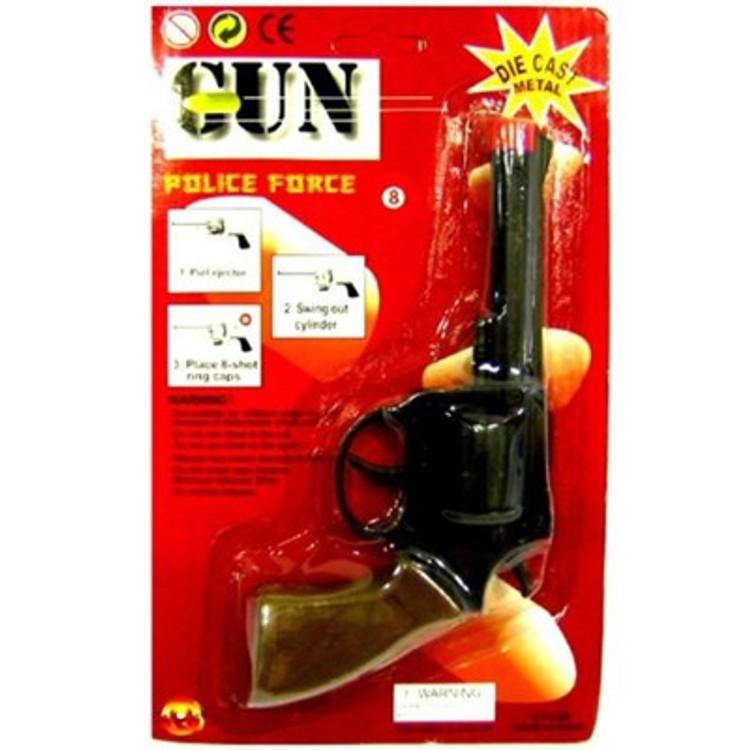 Gun Die Cast Cap Gun Revolver