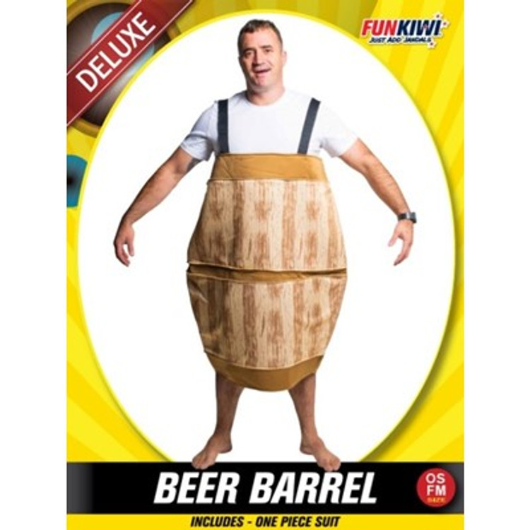 Beer Barrel Adult Costume