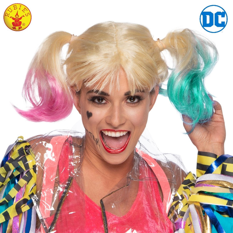 Harley Quinn Birds of Prey Adult Wig
