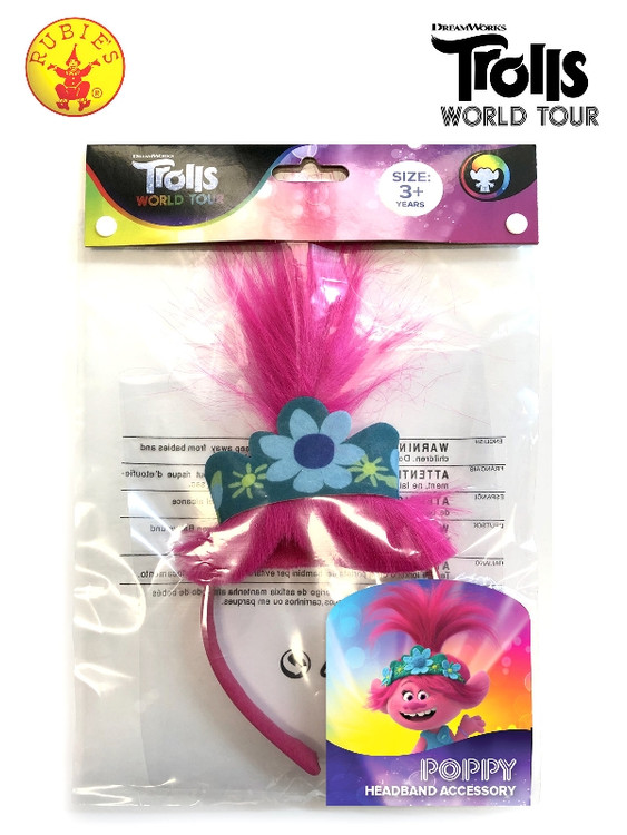 Trolls 2 Poppy Headband, Child