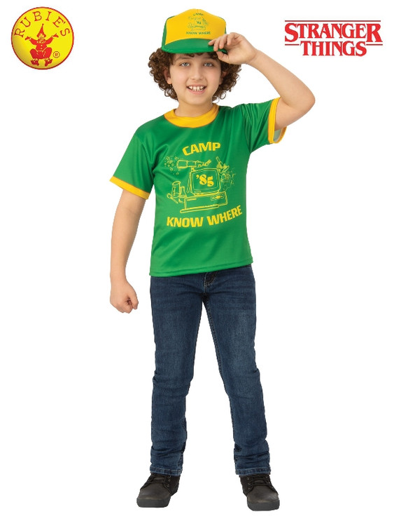 Stranger Things Dustin Camp Know Where Kids T-Shirt