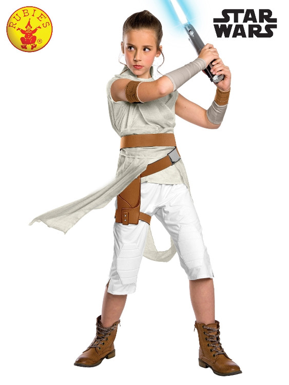 Star Wars - Rey Deluxe Girls Costume