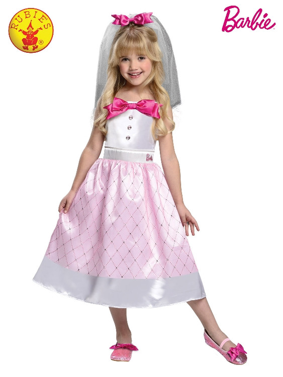 Barbie Bride Girls Costume