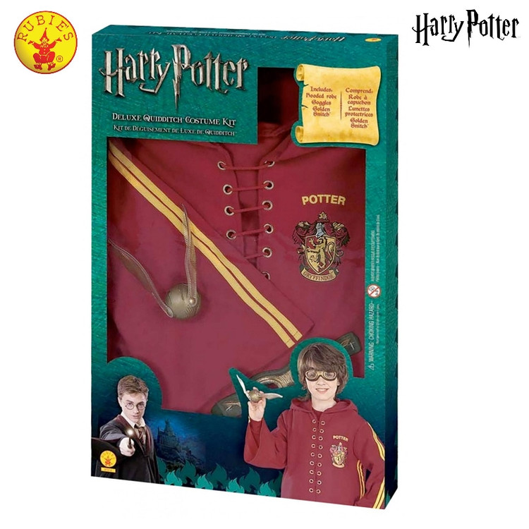 Harry Potter Quidditch Costume Set