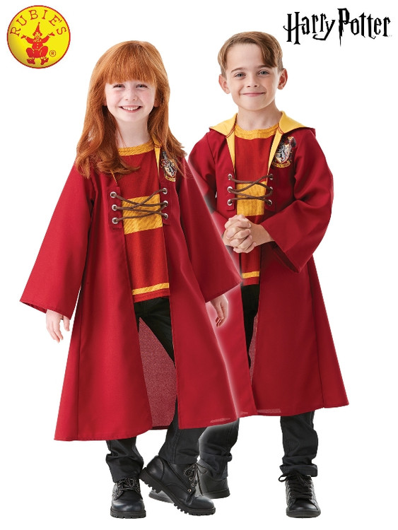Harry Potter Quidditch Hooded Kids Robe
