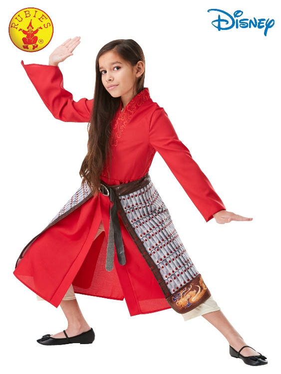 Disney Mulan Deluxe Movie Girls Costume