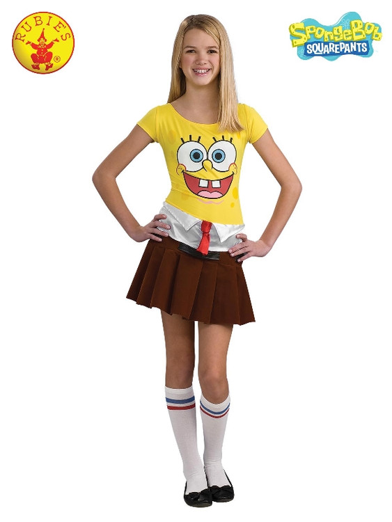 Spongebabe Teen Girls Costume