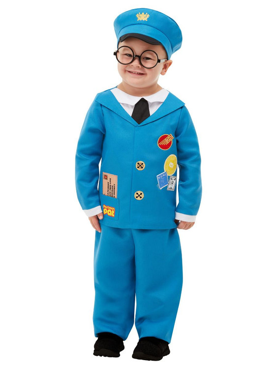 Postman Pat Toddler/Child Costume