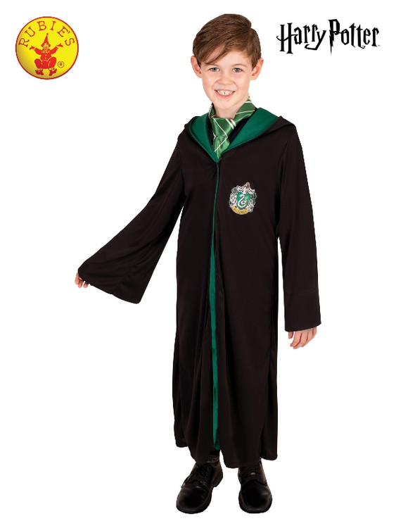 Harry Potter Slytherin Robe Kids Costume