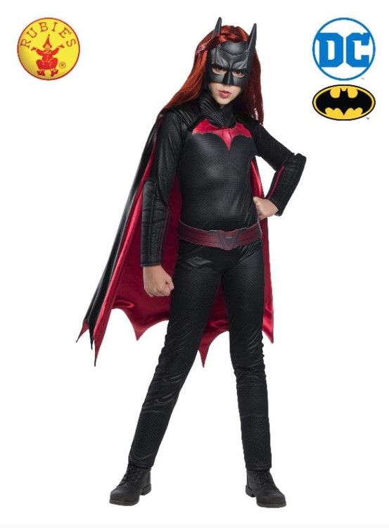 Batwoman Superhero Deluxe Girls Costume