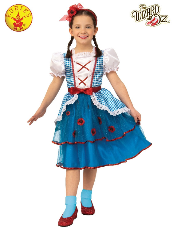 Wizard of Oz Dorothy Girls Deluxe Costume
