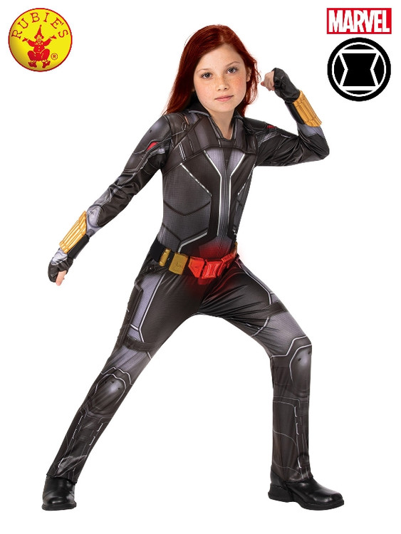 Black Widow Deluxe Light up Girls Costume