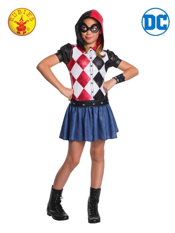 Harley Quinn DC Hoodie Girls Costume