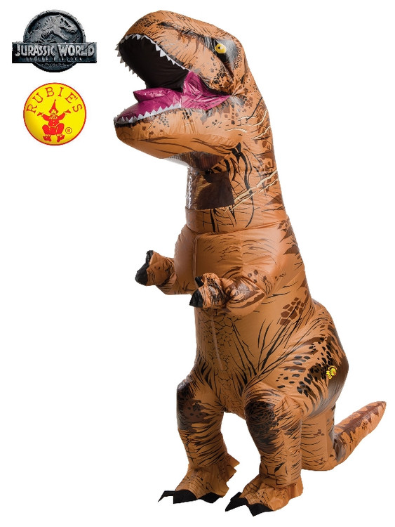 Jurassic World T-Rex Inflatable Teen Costume