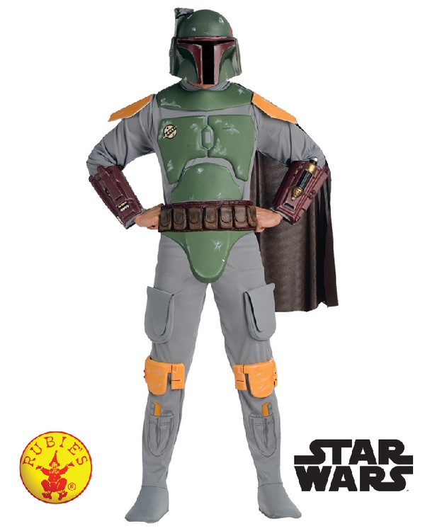 Star Wars -  Boba Fett Deluxe Mens Costume