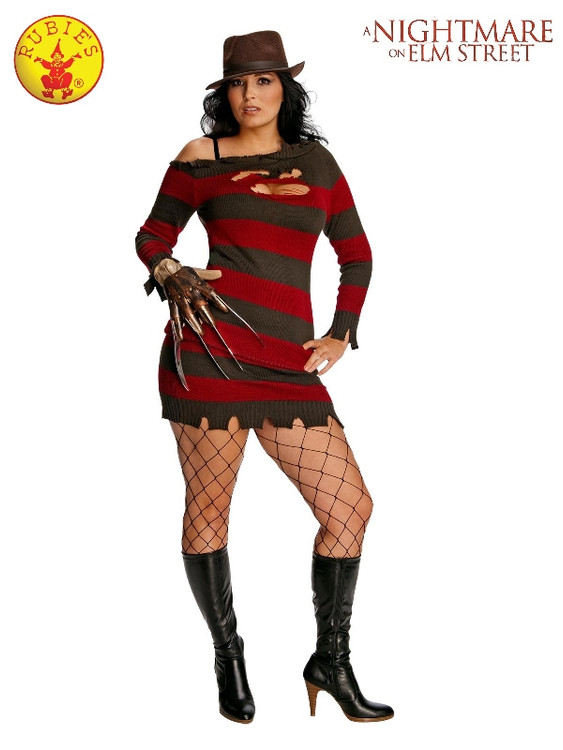 Miss Krueger Plus Size Womens Costume