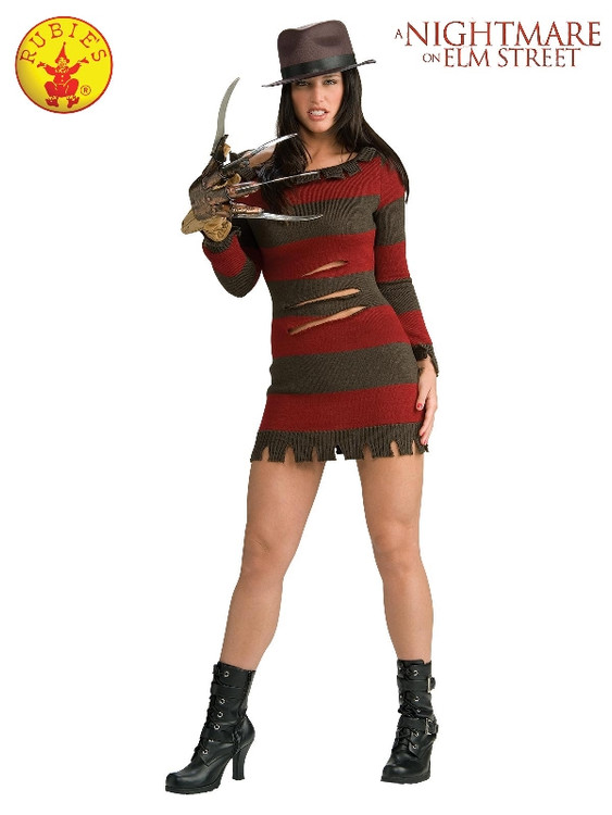 Freddy Miss Krueger Womens Costume