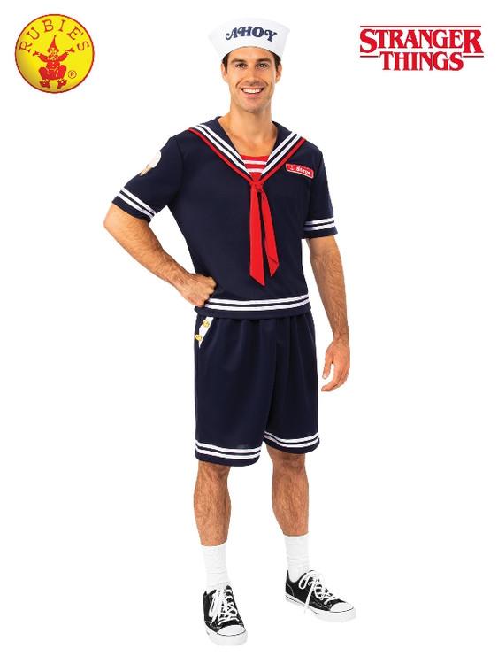Stranger Things Steve Scoops Ahoy Mens Costume