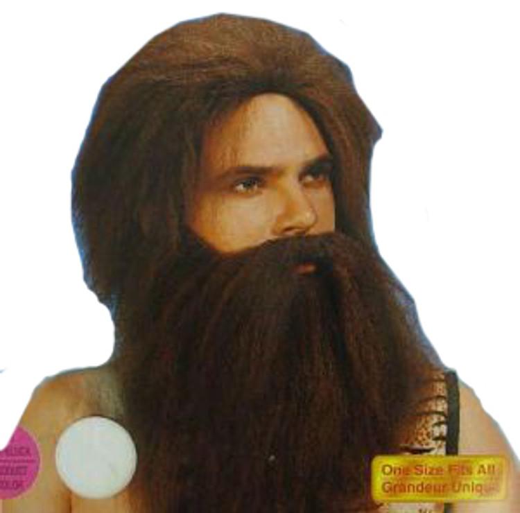 Caveman Beard & Wig