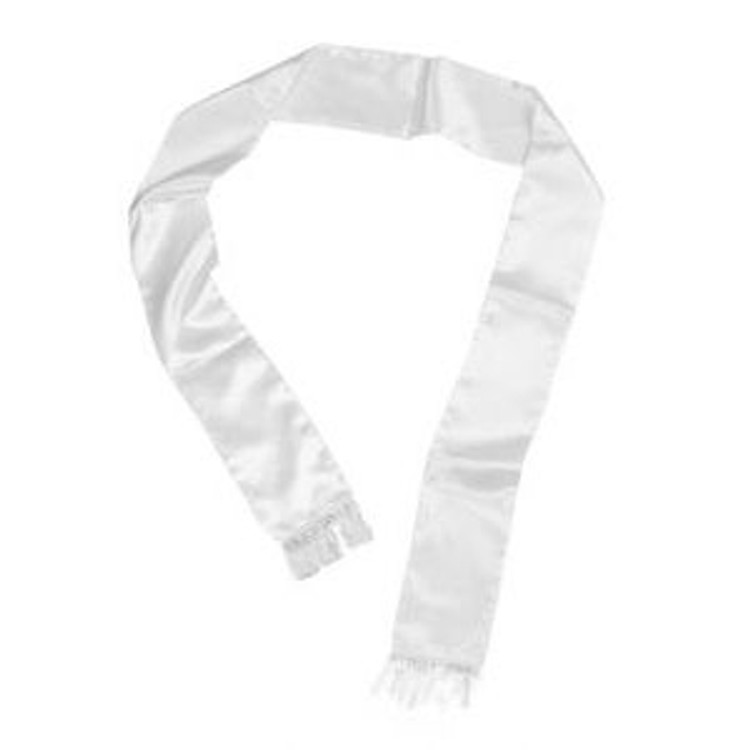 Gangster Scarf - White