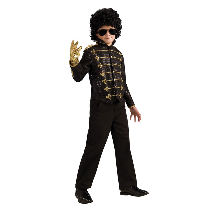 Michael Jackson   Adam Ant Deluxe Boys Military Costume