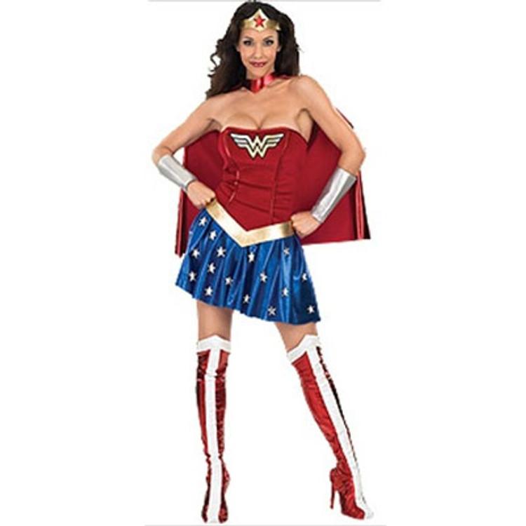 Wonder Woman Superhero Womens Costume