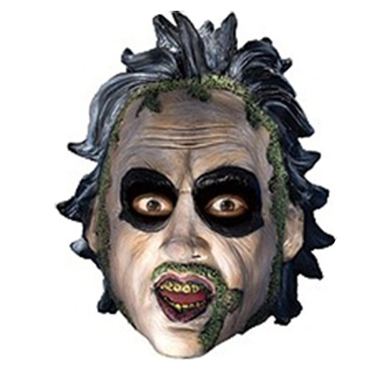 Beetlejuice Vinyl Mask