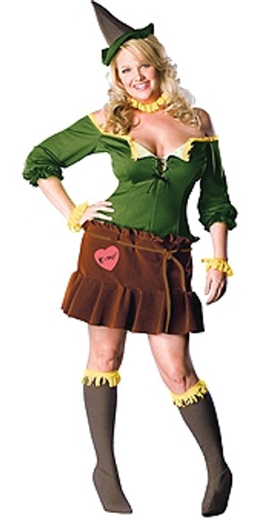 Wizard of Oz Scarecrow Plus Size Womens Costume