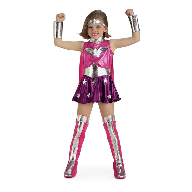 Wonder woman Pink Superhero Girls Costume