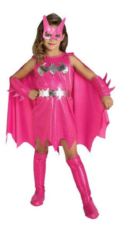 Batgirl Pink Superhero Girls Costume