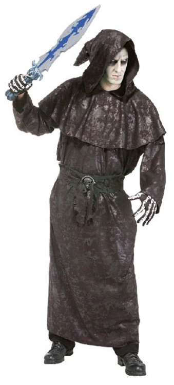 Dark Vengance Robe - Mens Costumes