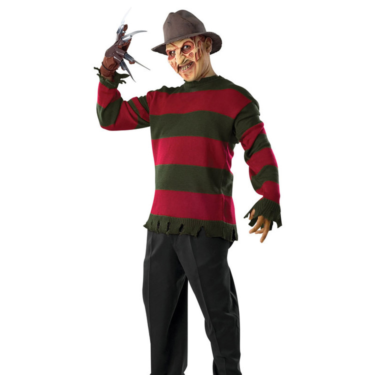 Freddy Krueger Deluxe Mens Sweater