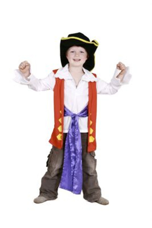 Wiggles Captain Feathersword Toddler Costumes