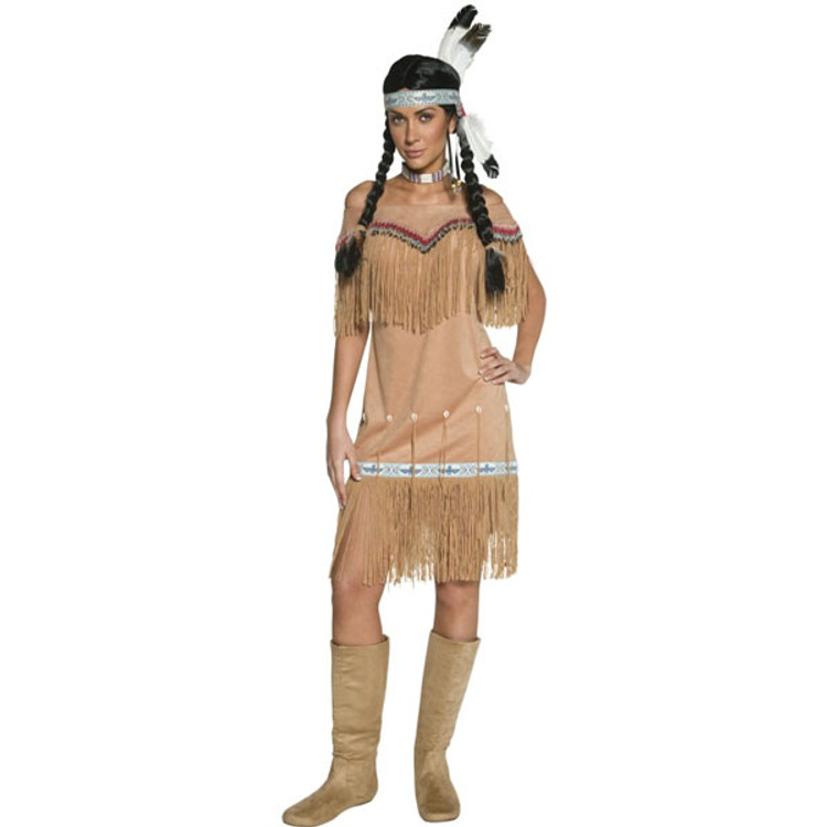 Authentic Western Indian Lady Costume
