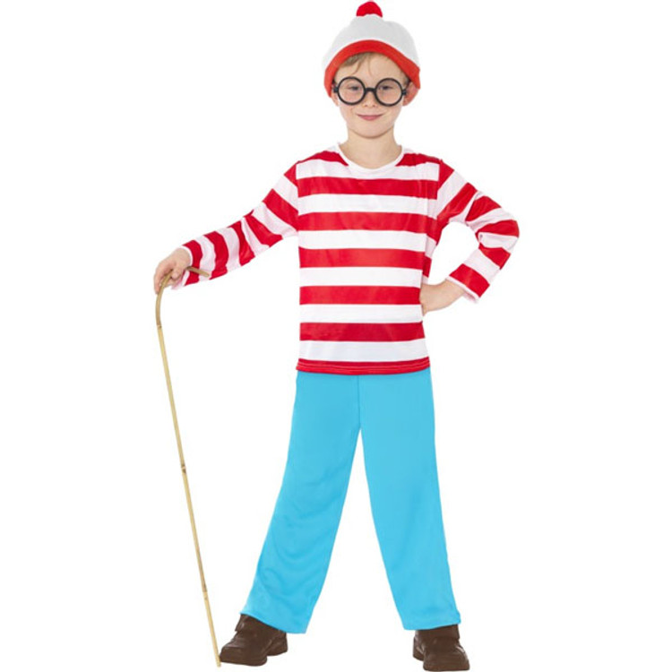Wheres Wally Kids Costume