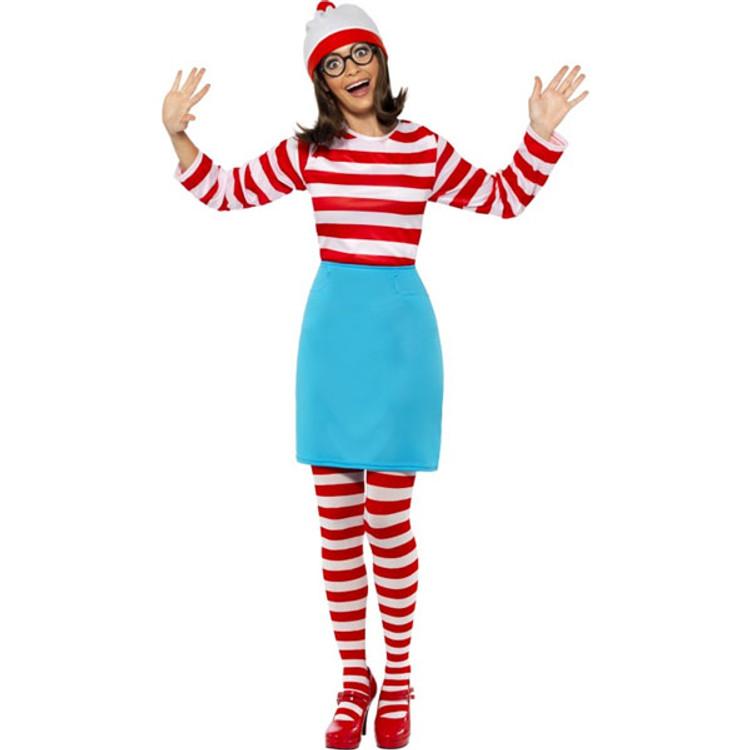 Wheres Wally? Wenda Womens Costume