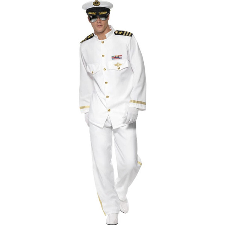 Captain Deluxe Mens Costumes