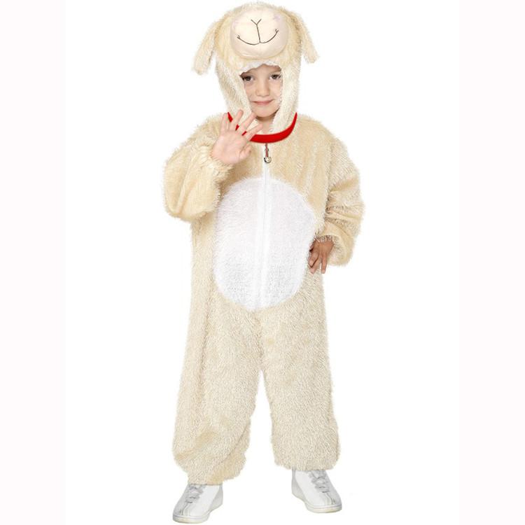 Lamb Kids Animal Costume Medium