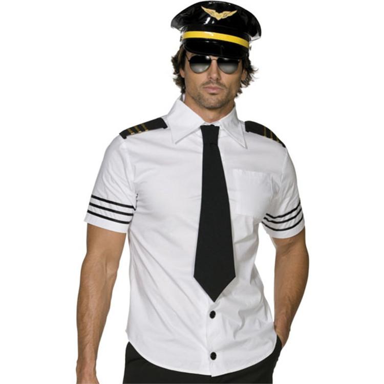 Mile High Captain Mens Costume
