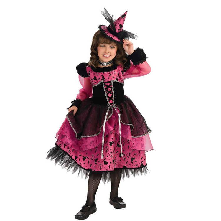 Victorian Witch Girls Costume