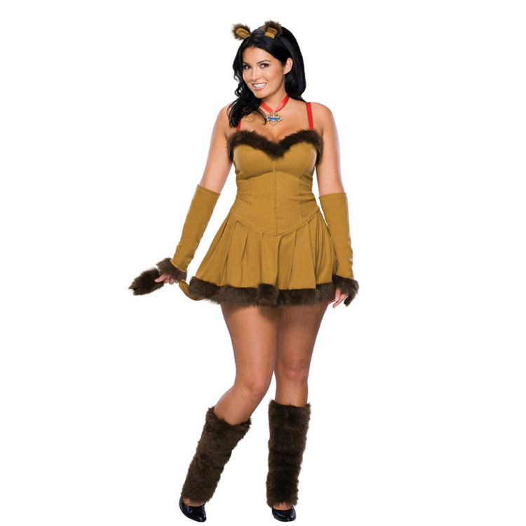 Cowardly Lioness Womens Costume Plus size