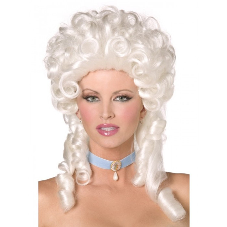 Marie Antionette Baroque Blonde Wig