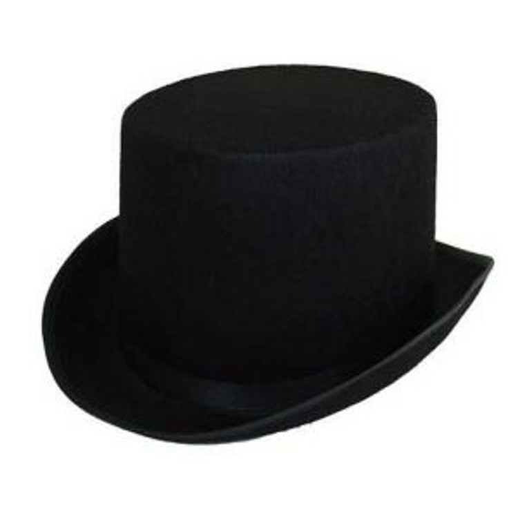 Top Hat - Feltex Black