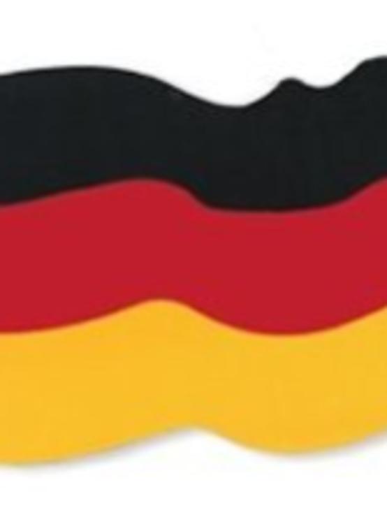 Oktoberfest German Flag Cut Out