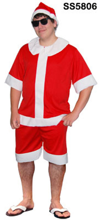 Summer Santa Suit Costume
