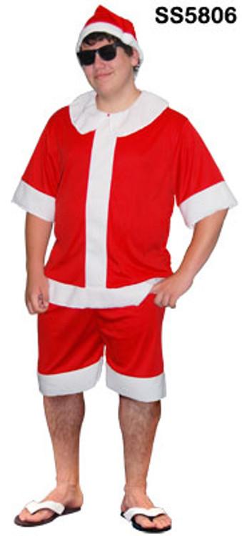 Summer Santa Suit Costume