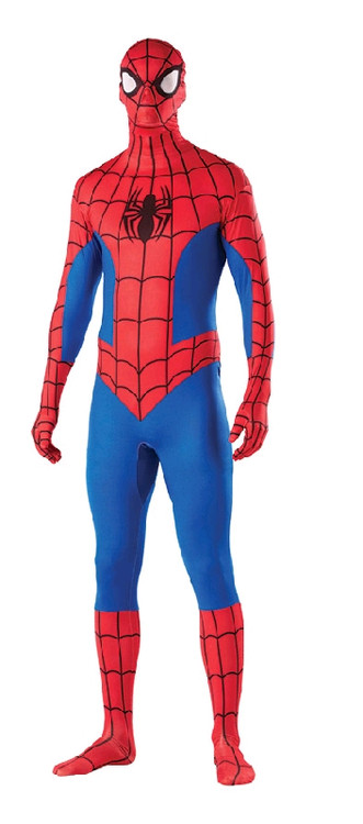 Spiderman Second Skin Bodysuit Costume