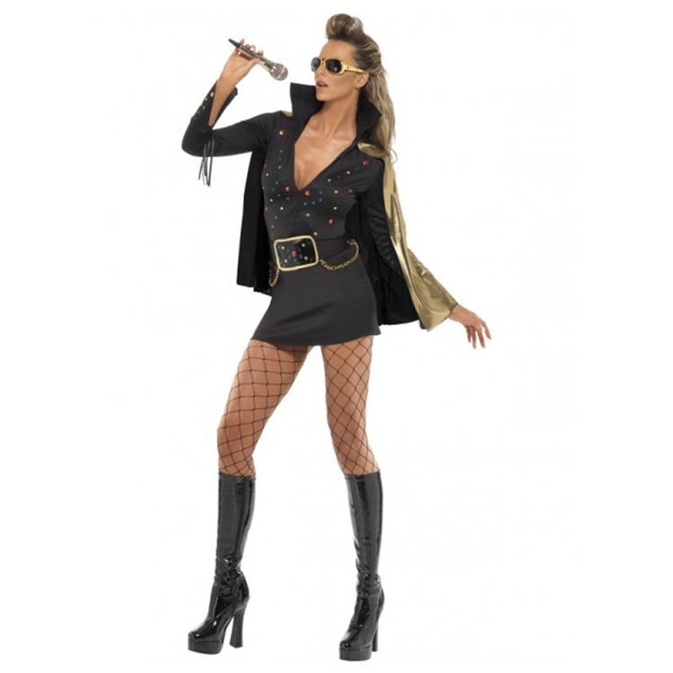 Elvis Viva Las Vegas Womens Costumes