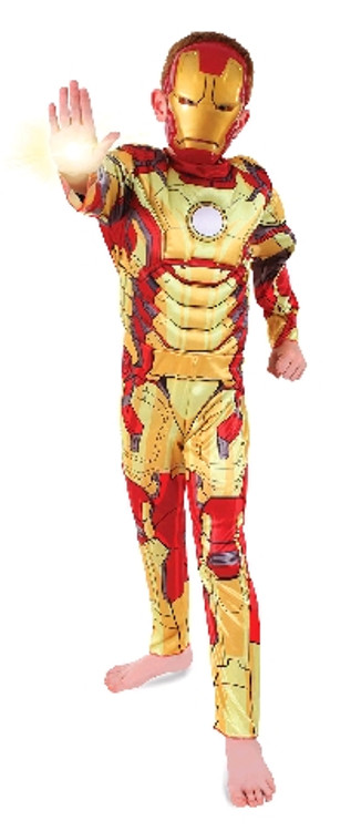 Ironman 3 Deluxe Boys Costume
